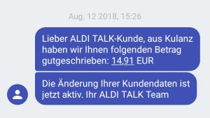 Aldi Talk Sim Kartennummer.König Kunde Startseite